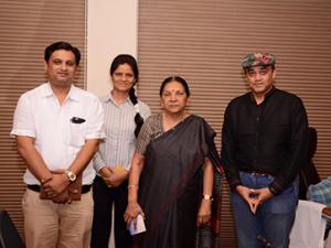Met Smt. Anandiben Patel, the Chief Minister of Gujarat
