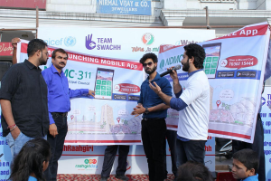 Raahgiri Day Promotes Our Developed NDMC-311 Citizen Application