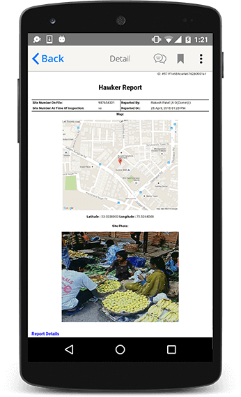Hawker Inspection Application