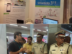 Our Booth at the Smart City Techno Fair