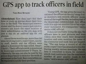 Got Featured in The Times of India, Ahmedabad
